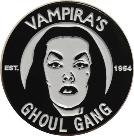 VAMPIRA GHOUL GANG LAPEL PIN (C: 1-0-2)