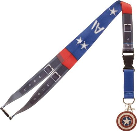 MARVEL CAPTAIN AMERICA SUIT UP LANYARD (C: 1-1-2)