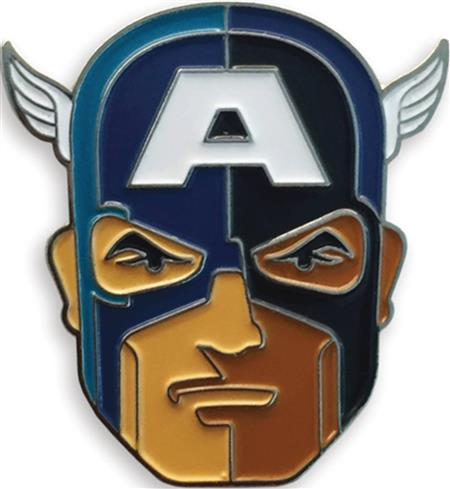 MONDO X MARVEL COMICS CAPTAIN AMERICA ENAMEL PIN (C: 1-1-2)