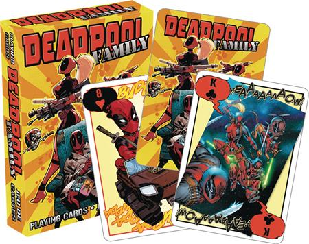 DEADPOOL FAMILY PLAYING CARDS (C: 1-1-0)