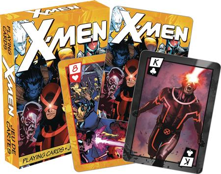 X-MEN COMICS PLAYING CARDS (C: 1-1-0)