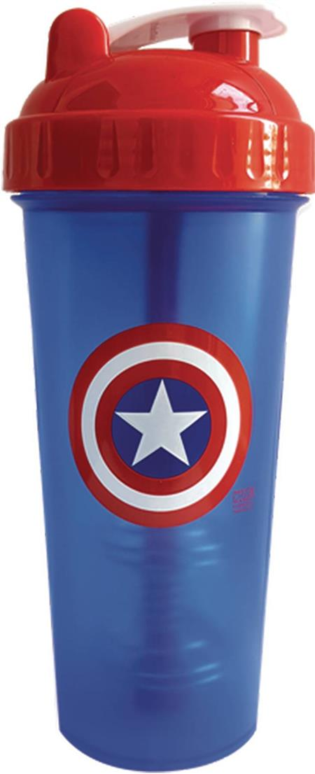 PERFECT-SHAKER MARVEL CAPTAIN AMERICA 28OZ BOTTLE (C: 1-0-2)