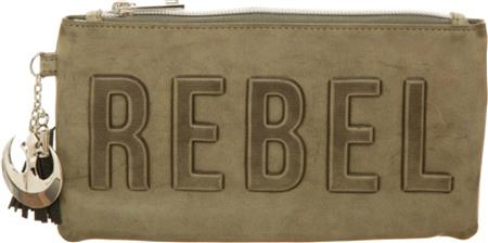 SW R1 REBEL DEBOSSED CLUTCH W/ CHARM (C: 1-0-2)