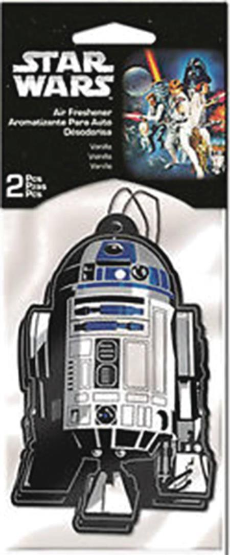 SW R2D2 2PK VANILLA AIR FRESHENER 24PC BAG (Net) (C: 1-1-2)