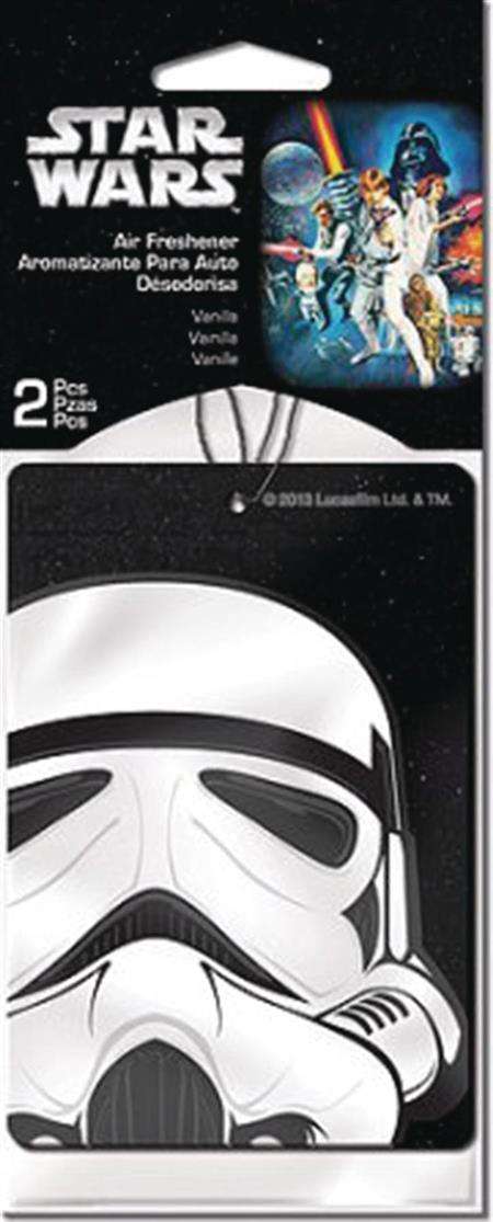 SW STORMTROOPER 2PK VANILLA AIR FRESHENER 24PC BAG (Net) (C: