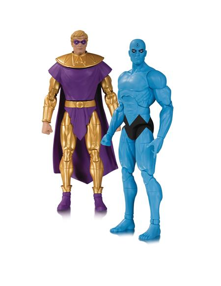 DOOMSDAY CLOCK DR MANHATTAN OZYMANDIAS AF 2 PACK