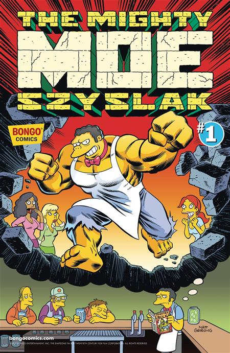 MIGHTY MOE SZYSLAK #1 (ONE SHOT)