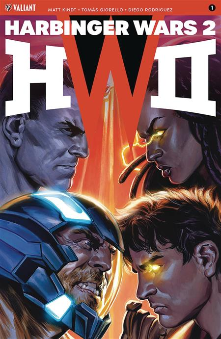 HARBINGER WARS 2 #1 (OF 4) CVR E 50 ICON VAR MASSAFERA (Net)