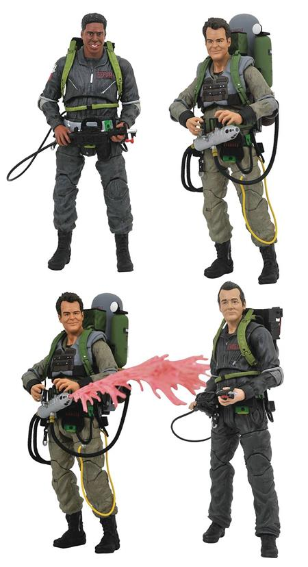 GHOSTBUSTERS 2 SELECT AF SERIES 8 ASST (C: 1-1-2)