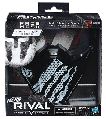NERF RIVAL MASK WHITE CS (Net) (C: 1-1-2)