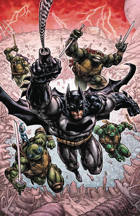 BATMAN TEENAGE MUTANT NINJA TURTLES III #1 (OF 6)