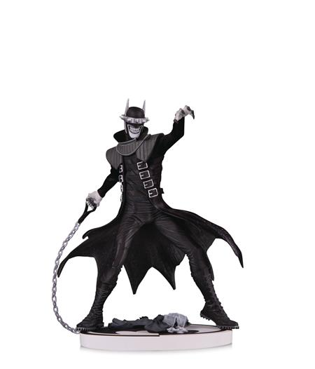 BATMAN BLACK & WHITE BATMAN WHO LAUGHS 2ND ED STATUE