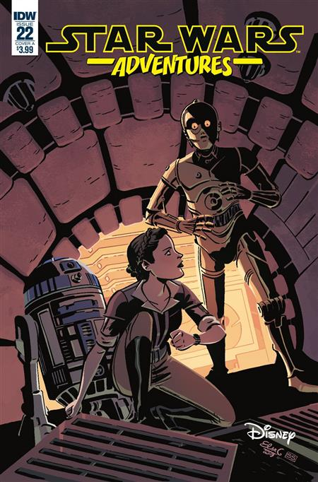 STAR WARS ADVENTURES #22 CVR A CHARRETIER (C: 1-0-0)