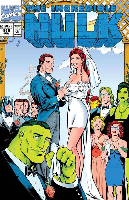 TRUE BELIEVERS HULK WEDDING OF RICK JONES #1