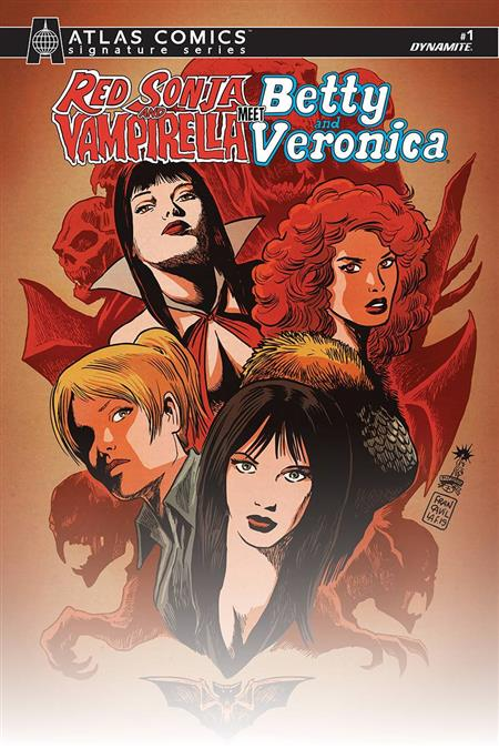 RED SONJA VAMPIRELLA BETTY VERONICA #1 ATLAS ED (C: 0-1-2)