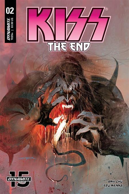 KISS END #2 CVR A SAYGER