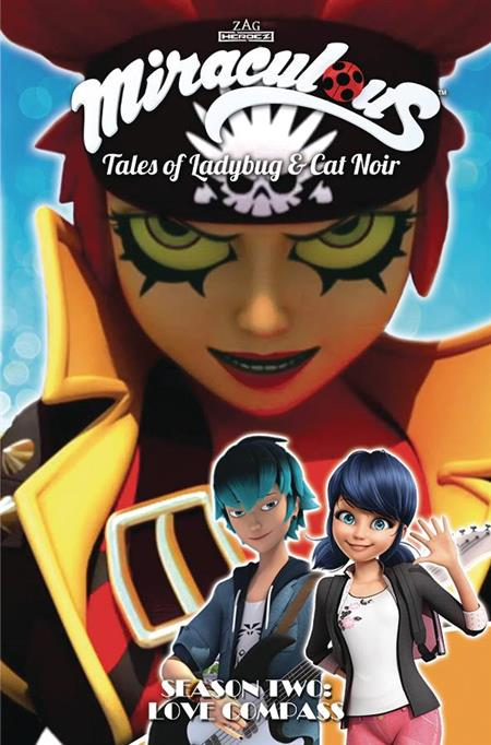 MIRACULOUS TALES OF LADYBUG AND CAT NOIR S2 LOVE COMPASS TP