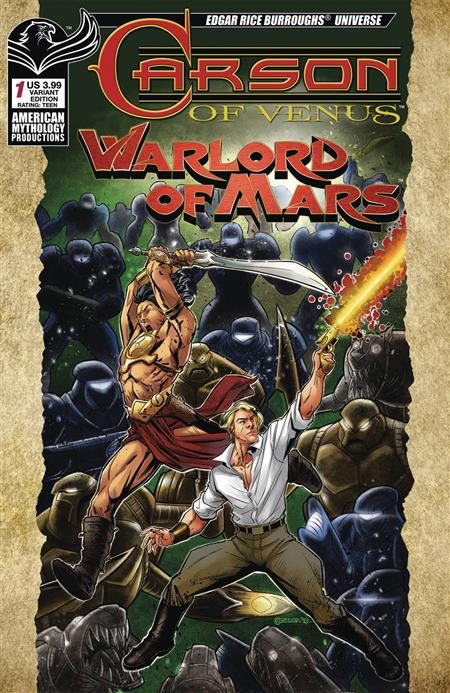 CARSON OF VENUS WARLORD OF MARS #1 WARRIORS CVR MESARCIA