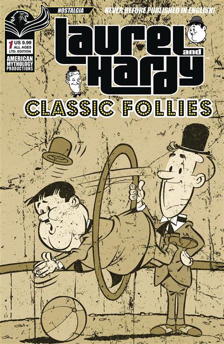 LAUREL & HARDY CLASSIC FOLLIES #1 LTD ED CVR