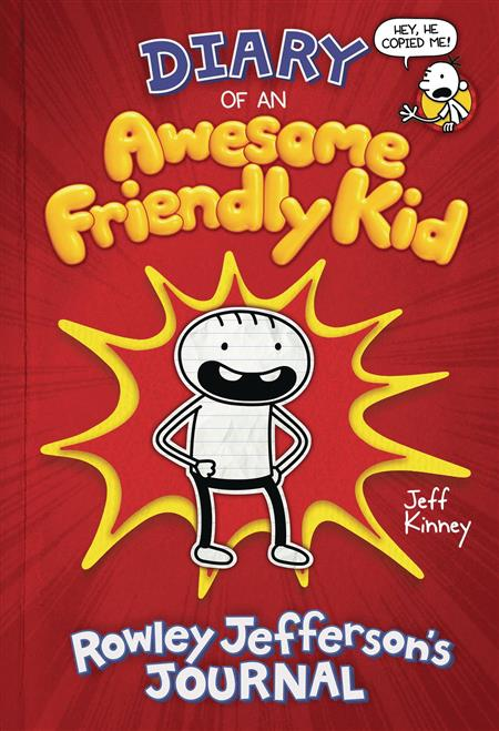 DIARY OF AWESOME FRIENDLY KID HC ROWLEY JEFFERSONS JOURNAL (