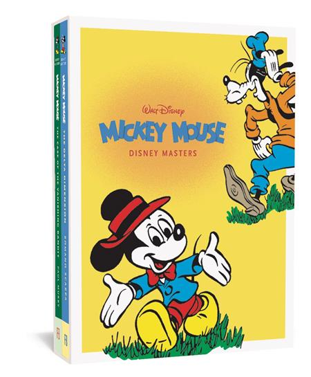 DISNEY MASTERS GIFT HC BOX SET VOL 1 & 3 MICKEY MOUSE