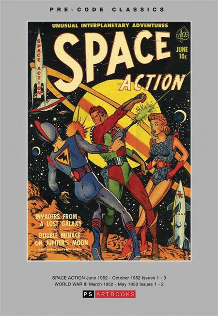 PRE CODE CLASSICS SPACE ACTION WORLD WAR III HC VOL 01 (C: 0