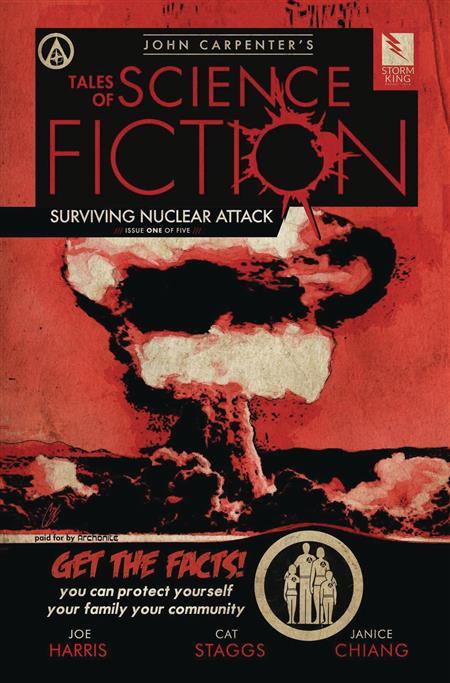 CARPENTER TALES SCI FI NUCLEAR ATTACK #1 (MR)