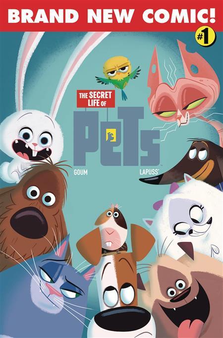 SECRET LIFE OF PETS #1 CVR A GOUM