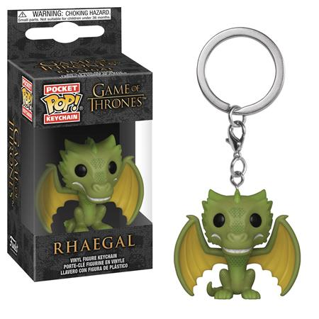 POCKET POP GAME OF THRONES RHAEGAL FIG KEYCHAIN (C: 1-1-2)