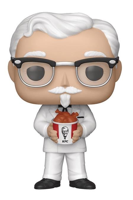 POP AD ICONS KFC COLONEL SANDERS VINYL FIGURE (C: 1-1-2)