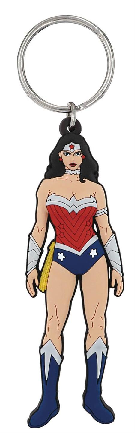 DC HEROES WONDER WOMAN SOFT TOUCH PVC KEY RING (C: 1-1-2)