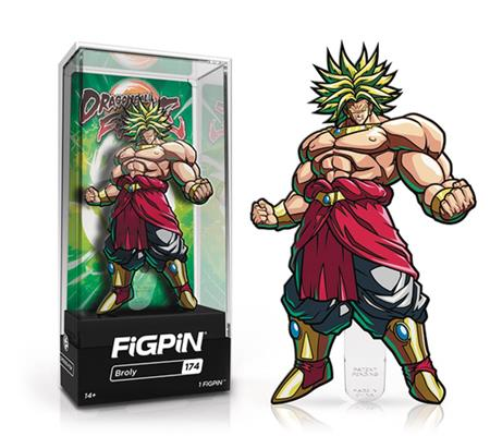 FIGPIN DRAGONBALL FIGHTERZ BROLY PIN (C: 1-1-2)