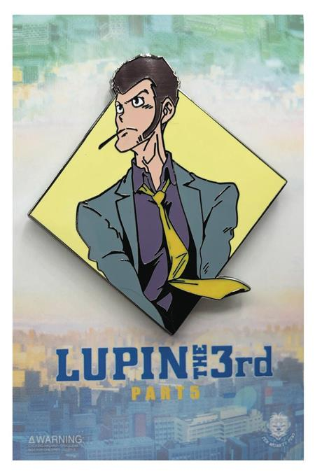 LUPIN THE THIRD DIAMOND LUPIN PIN (C: 1-1-2)