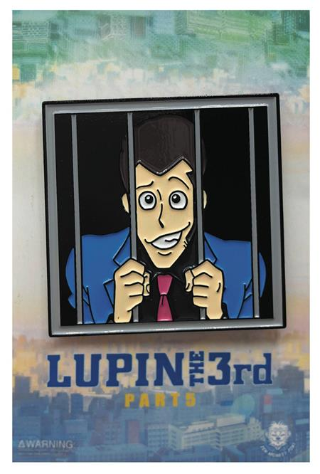 LUPIN THE THIRD LUPIN IN JAIL PIN (C: 1-1-2)