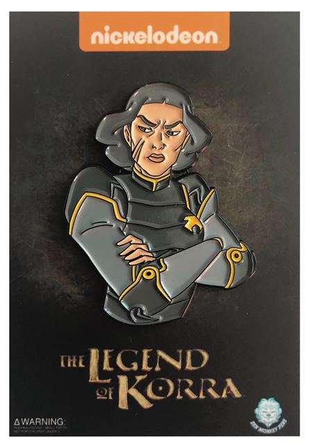 LEGEND OF KORRA ARMS CROSSED LIN PIN (C: 1-1-2)