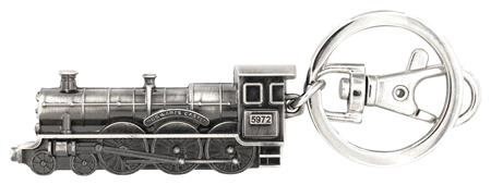 HARRY POTTER HOGWARTS EXPRESS PEWTER KEYRING (C: 1-1-2)