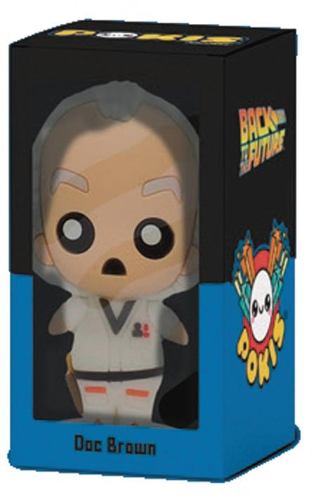 POKIS BACK TO THE FUTURE DOC BROWN FIGURE (C: 1-1-1)