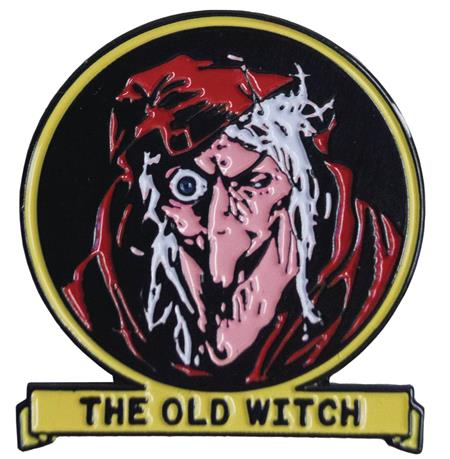 TALES FROM THE CRYPT OLD WITCH ENAMEL PIN (C: 1-1-0)