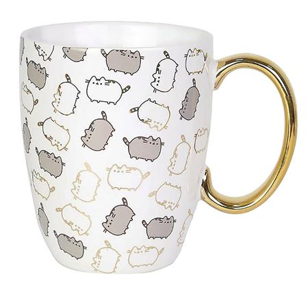 OUR NAME IS MUD PUSHEEN GOLD PATTERN 12 OZ MUG (C: 1-1-2)