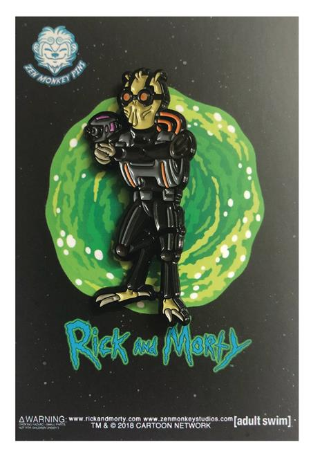 RICK AND MORTY KROMBOPULUS MICHAEL PIN (C: 1-1-2)