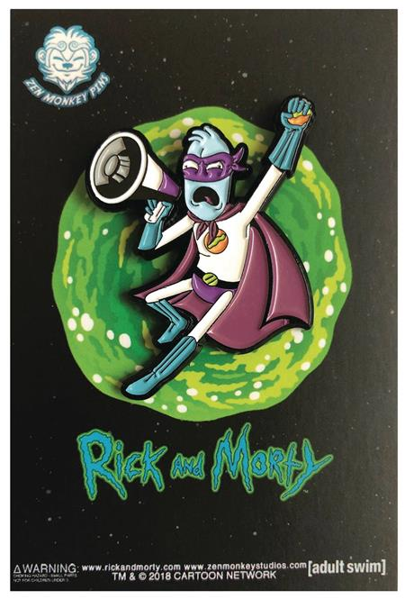 RICK AND MORTY THE EYE HOLE MAN PIN (C: 1-1-2)