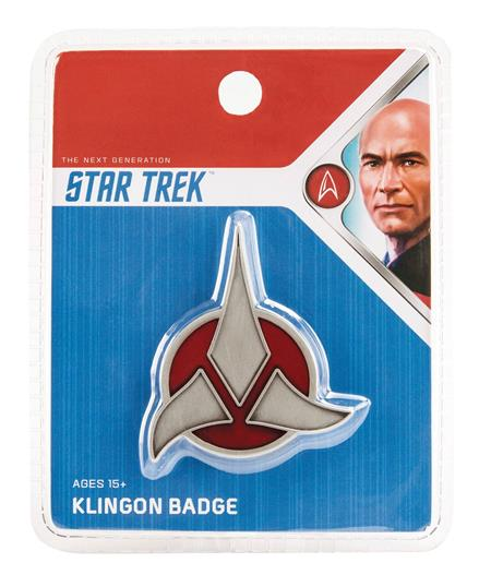 STAR TREK KLINGON EMBLEM BADGE (C: 1-1-2)