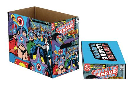 DC COMICS STARRO STRIKES 5PK SHORT COMIC STORAGE BOX (C: 1-1