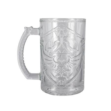 LEGEND OF ZELDA HYLIAN SHIELD GLASS MUG (C: 0-1-2)