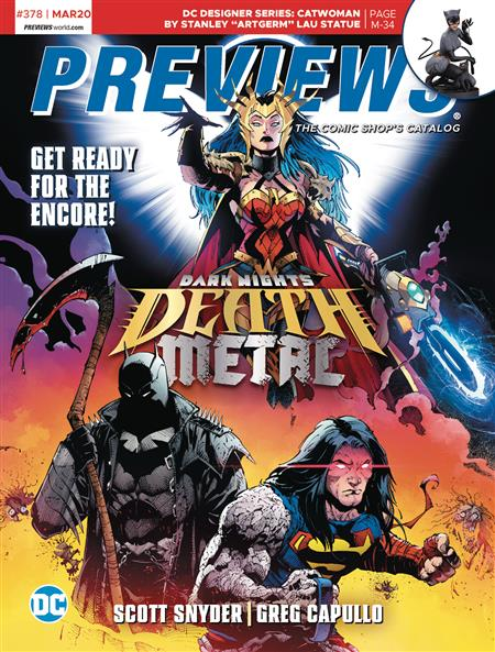 PREVIEWS #380-381 MAY JUNE 2020 * Includes a FREE DC Previews