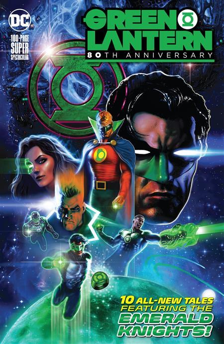 GREEN LANTERN 80TH ANNIV 100 PAGE SUPER SPECT #1