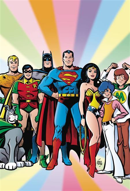 SUPER FRIENDS SATURDAY MORNING CARTOON HC VOL 01