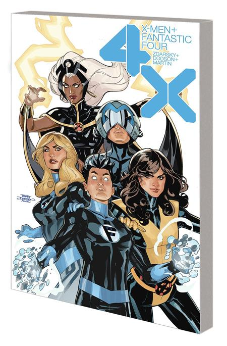 X-MEN FANTASTIC FOUR TP 4X