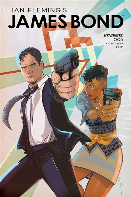 JAMES BOND #6 CVR A RICHARDSON