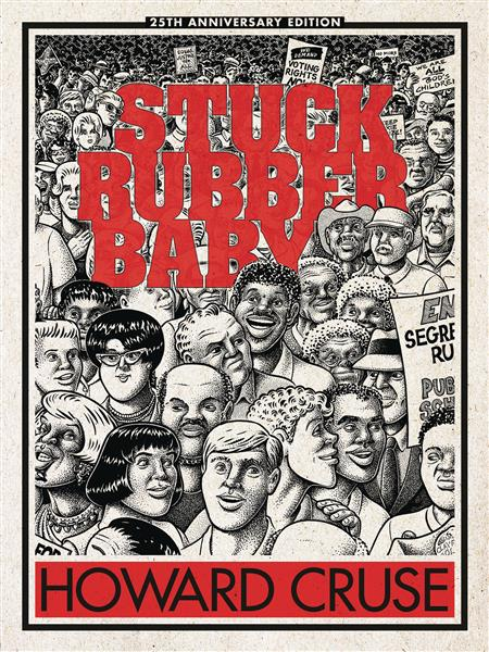 STUCK RUBBER BABY 25TH ANNIV HC ED (MR) (C: 0-1-0)